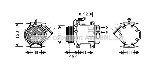 compresseur pour fiat ducato camion plate ch u00e2ssis 130 multijet 2 3 d 131cv  250   290