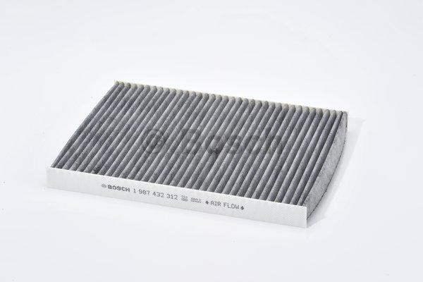 filtre d 39 habitacle bosch 1 987 432 312 x1 yakarouler. Black Bedroom Furniture Sets. Home Design Ideas
