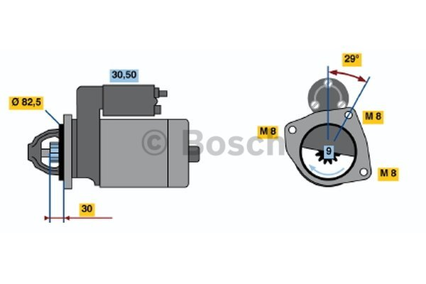 demarreur pour iveco daily iii camion plate ch u00e2ssis