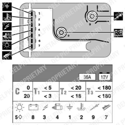 relais de prechauffage delphi hdc125 x1 yakarouler. Black Bedroom Furniture Sets. Home Design Ideas