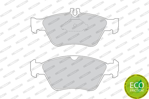 Bremsklötze vorne für MERCEDES C KLASSE W202 200 230 240 250D 280 Kabel 21664