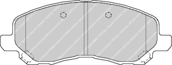 plaquettes de frein avant pour chrysler sebring