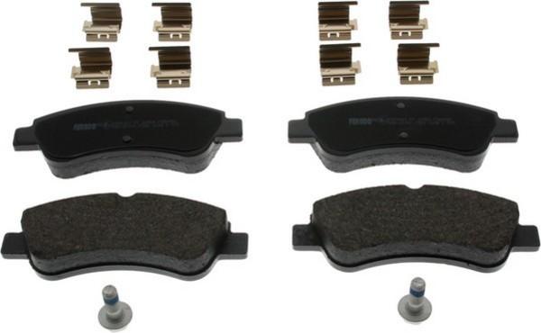 plaquettes de frein avant ferodo fdb4066 jeu de 4 yakarouler. Black Bedroom Furniture Sets. Home Design Ideas