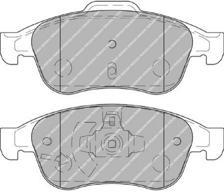 plaquettes de frein avant ferodo fdb4180 jeu de 4 yakarouler. Black Bedroom Furniture Sets. Home Design Ideas