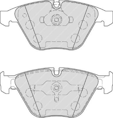 plaquettes de frein avant ferodo fdb4221 jeu de 4 yakarouler. Black Bedroom Furniture Sets. Home Design Ideas