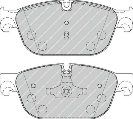 plaquettes de frein avant ferodo fdb4313 jeu de 4 yakarouler. Black Bedroom Furniture Sets. Home Design Ideas