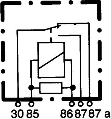 relais  contr u00f4le de demarrage  u00e0 froid pour mercedes