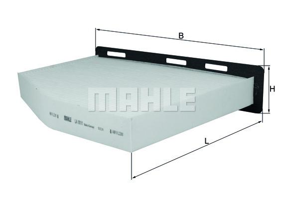 filtre d 39 habitacle knecht la 181 1 x1 yakarouler. Black Bedroom Furniture Sets. Home Design Ideas
