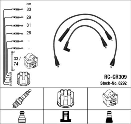 cable d allumage pour chrysler voyager ii 2 5 i 98cv es 72kw yakarouler