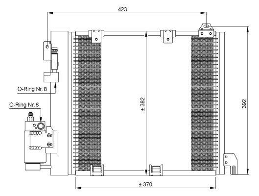 condenseur radiateur de climatisation nrf 35302 yakarouler. Black Bedroom Furniture Sets. Home Design Ideas