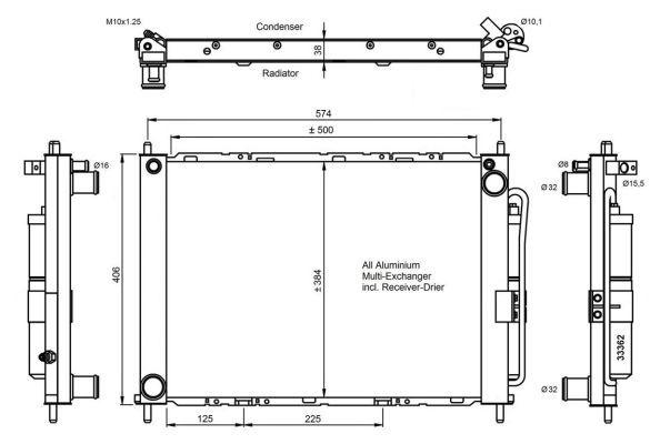 condenseur radiateur de climatisation nrf 35886 yakarouler. Black Bedroom Furniture Sets. Home Design Ideas