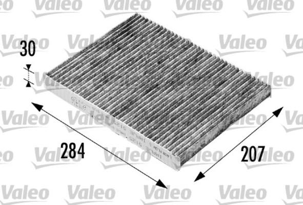 filtre d 39 habitacle valeo 698716 x1 yakarouler. Black Bedroom Furniture Sets. Home Design Ideas