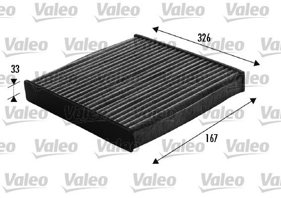 filtre d 39 habitacle valeo 698748 x1 yakarouler. Black Bedroom Furniture Sets. Home Design Ideas